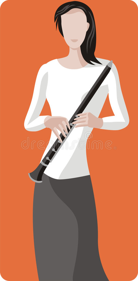 Serie dell'illustrazione del musicista royalty illustrazione gratis