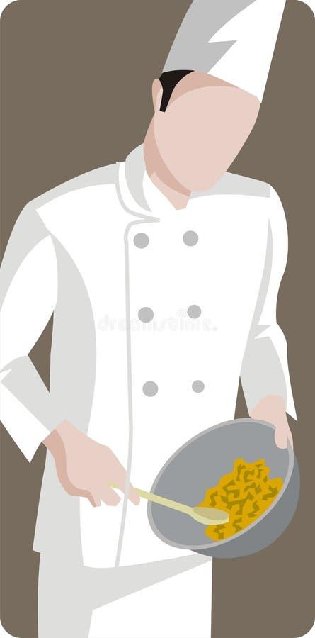 Serie dell'illustrazione del ristorante illustrazione vettoriale