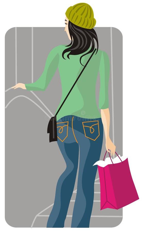 Serie dell'illustrazione di acquisto illustrazione di stock