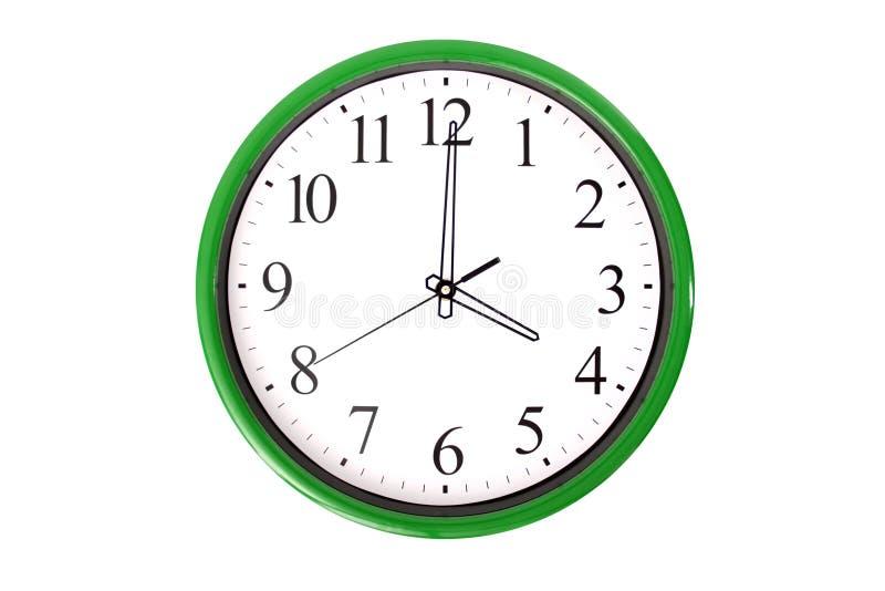 Serie dell'orologio - 4 in punto immagine stock libera da diritti