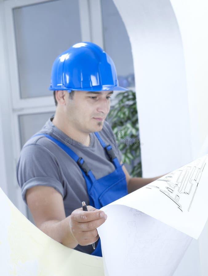 Serie della costruzione fotografia stock