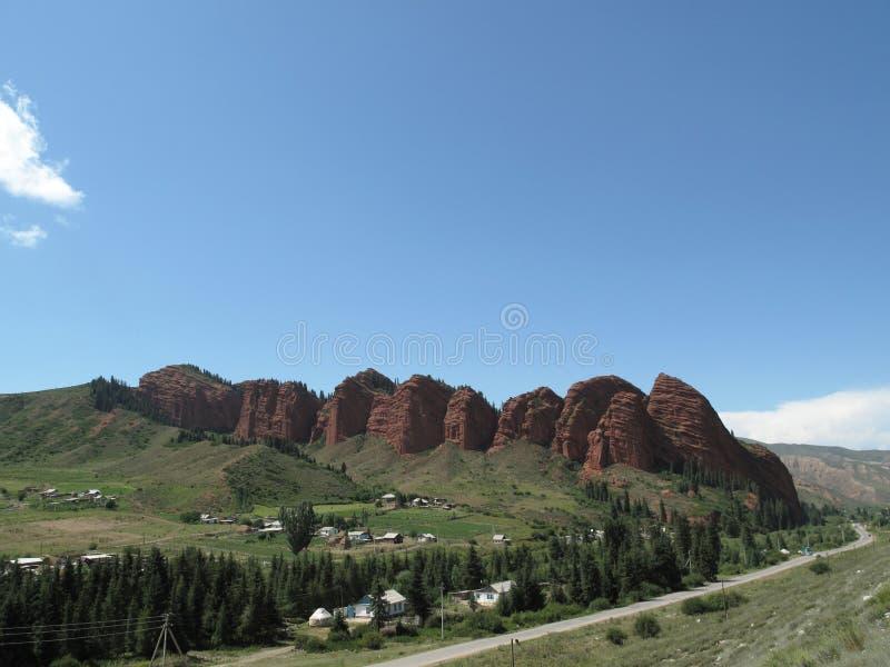 Serie della montagna fotografie stock libere da diritti
