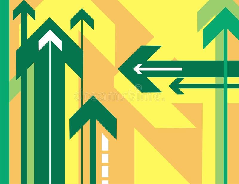 Download Serie Della Priorità Bassa Della Freccia Illustrazione Vettoriale - Illustrazione di angolo, concetto: 3143848