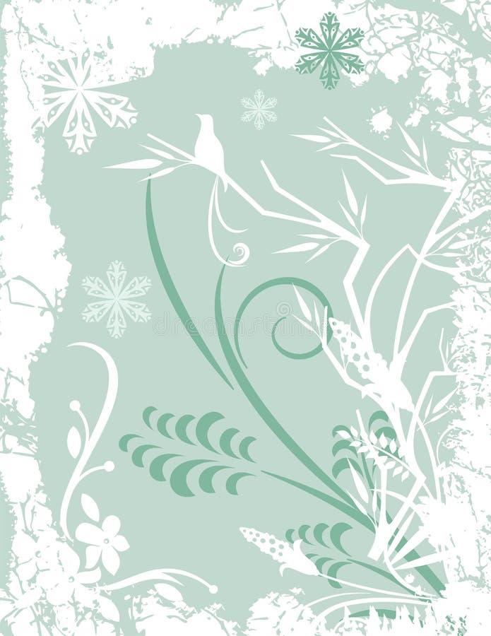 Serie della priorità bassa di inverno royalty illustrazione gratis