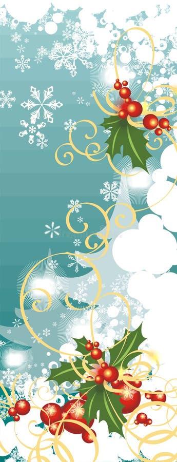 Serie della priorità bassa di inverno illustrazione vettoriale