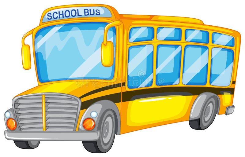 Serie dello scuolabus - 1 illustrazione vettoriale