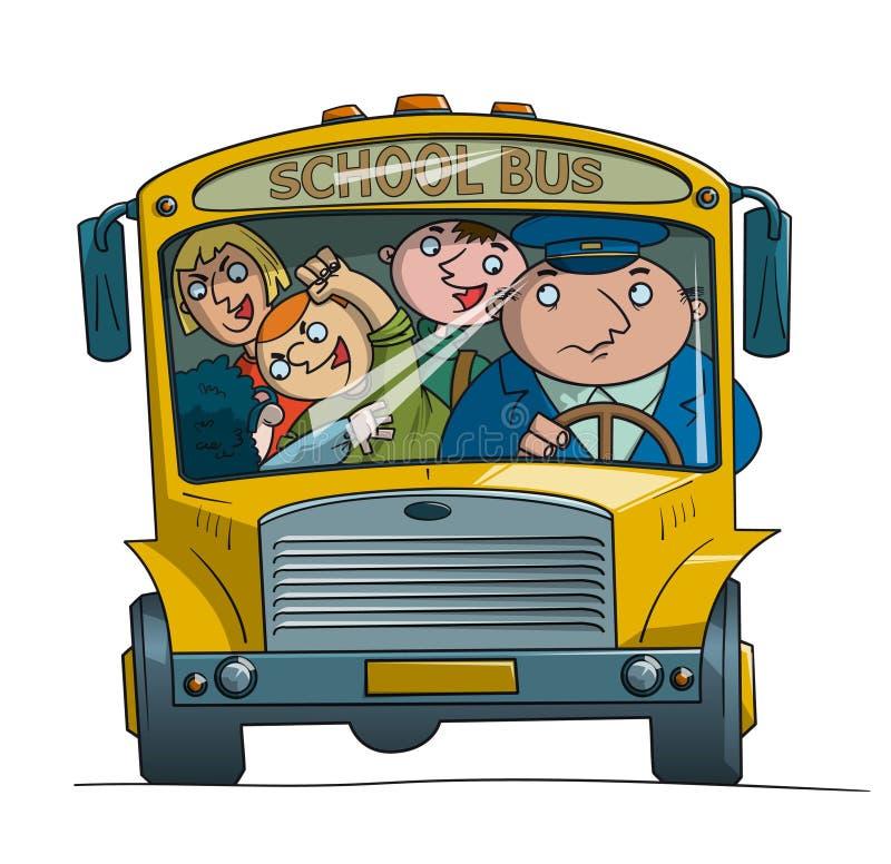 Serie dello scuolabus - 1 illustrazione di stock