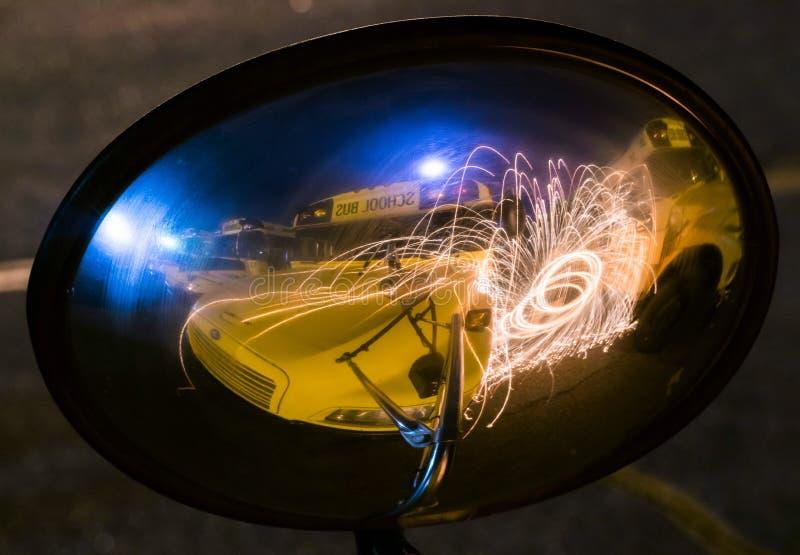 Serie dello spettacolo di luci fotografia stock