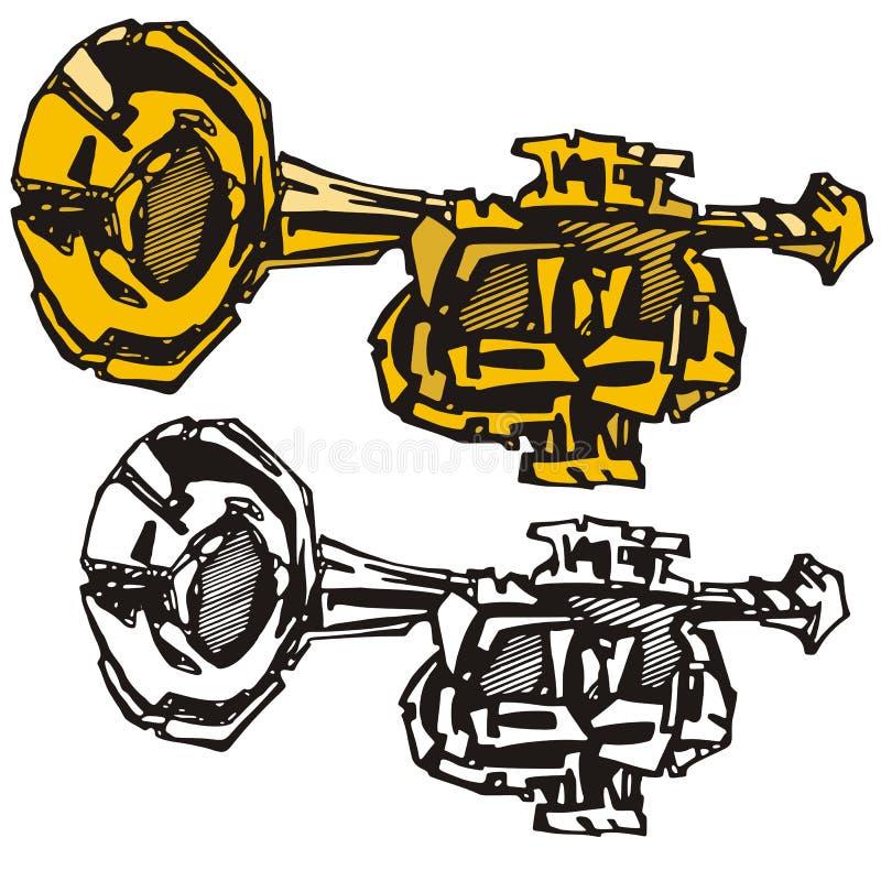 Serie dello strumento di musica illustrazione vettoriale