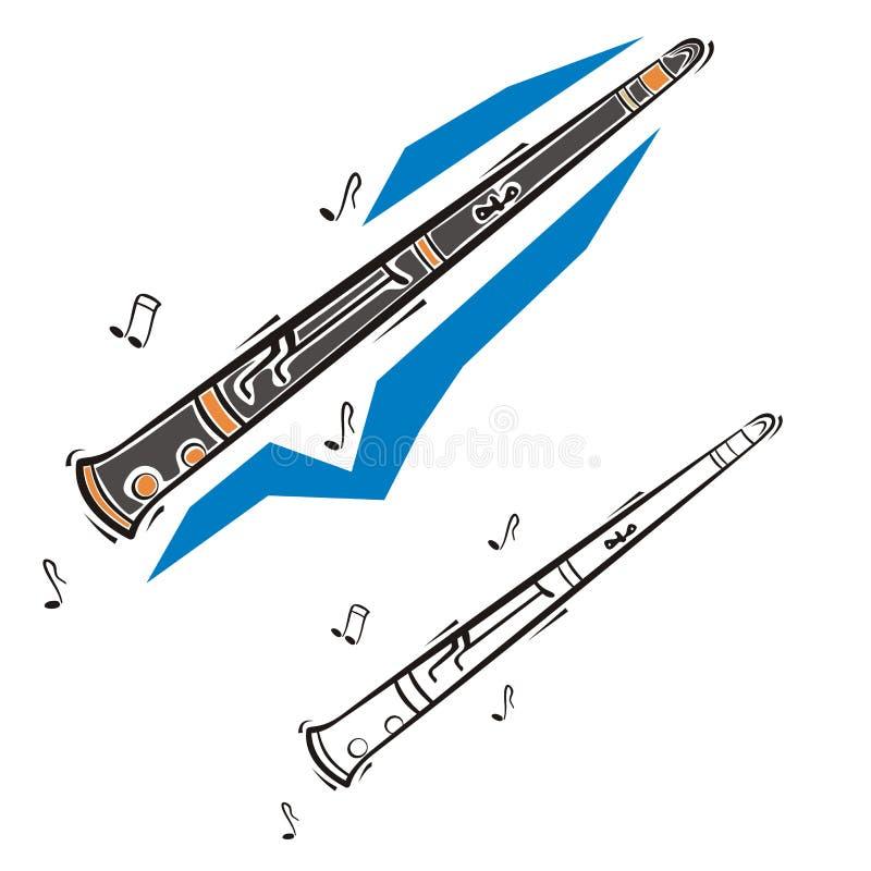 Serie dello strumento di musica illustrazione di stock