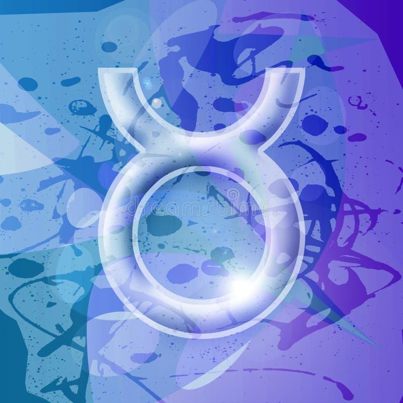 Serie dello zodiaco - Taurus illustrazione vettoriale