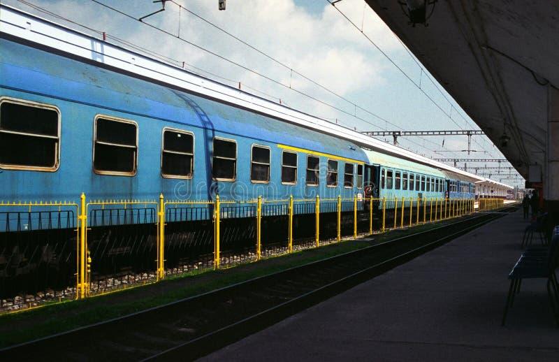 Serie in der Station lizenzfreies stockbild