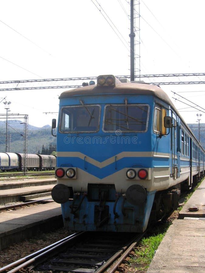Serie an der Station lizenzfreies stockbild