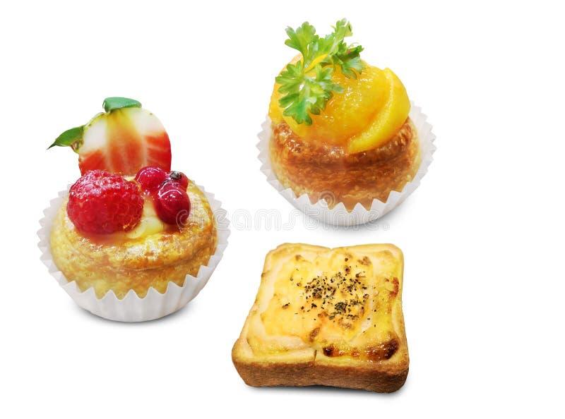 Serie di idee dell'alimento del forno - immagini stock libere da diritti