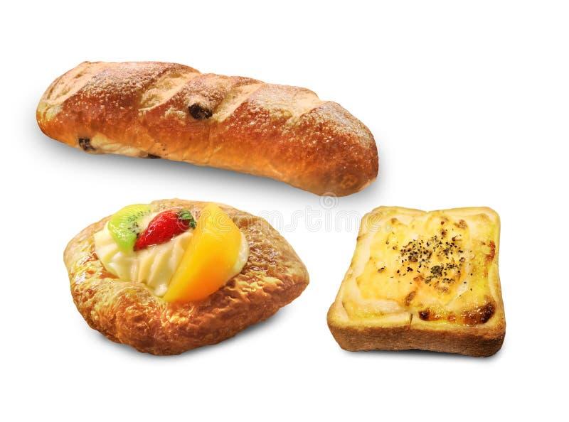 Serie di idee dell'alimento del forno - fotografia stock