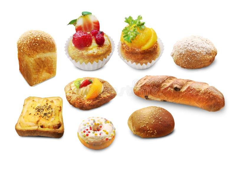 Serie di idee dell'alimento del forno - immagine stock