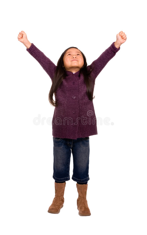 Serie di infanzia (successo) immagine stock libera da diritti