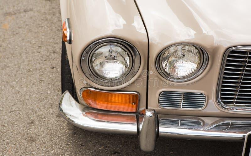 Serie 1971 di Jaguar dell'annata I XJ-6 fotografie stock