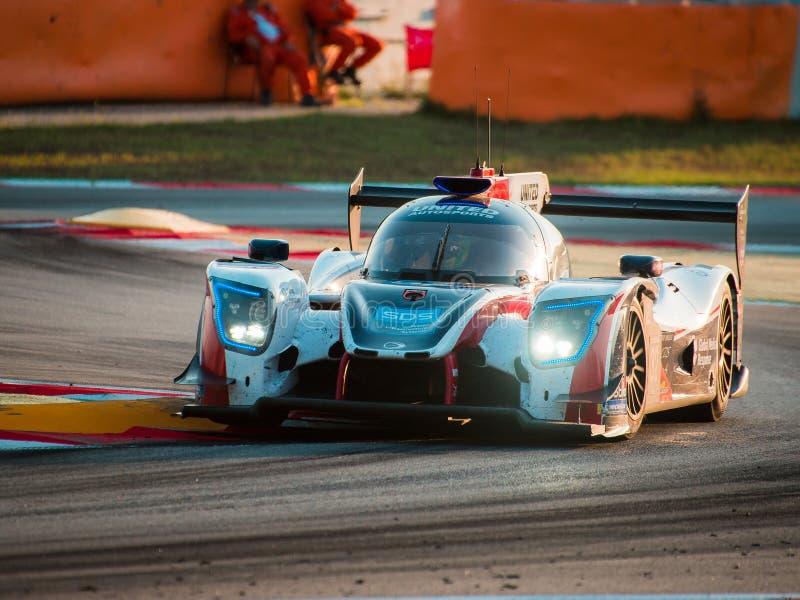 Serie di Le Mans dell'europeo - 4Hours di Barcellona fotografia stock