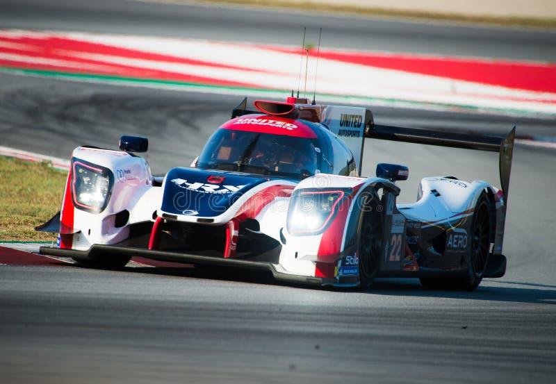 Serie di Le Mans dell'europeo - 4Hours di Barcellona fotografie stock libere da diritti