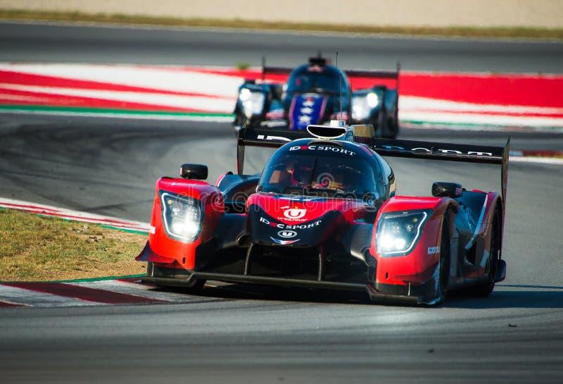 Serie di Le Mans dell'europeo - 4Hours di Barcellona immagini stock libere da diritti
