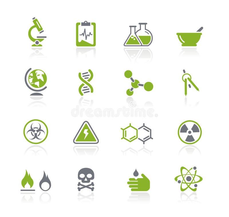 Serie di // Natura di scienza illustrazione di stock
