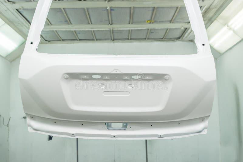 Serie di riparazione della pittura dell'automobile immagine stock