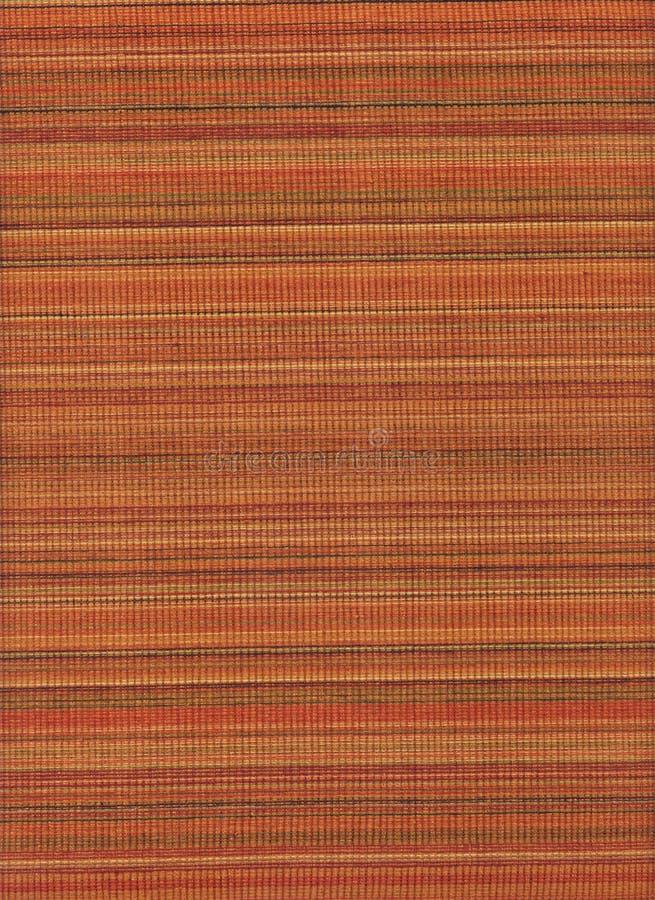 Serie di struttura - arancio a strisce fotografia stock libera da diritti