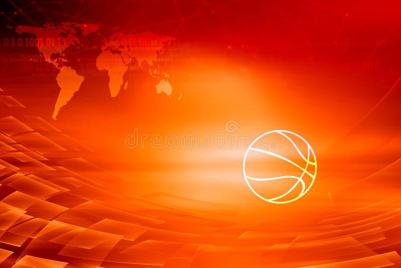 Serie för begrepp för bakgrund för tema för grafisk digital sportnyheterna röd fotografering för bildbyråer