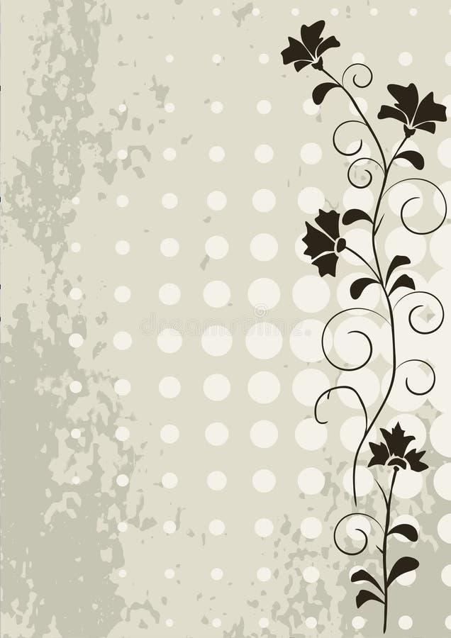 serie för kantramgrunge royaltyfri illustrationer