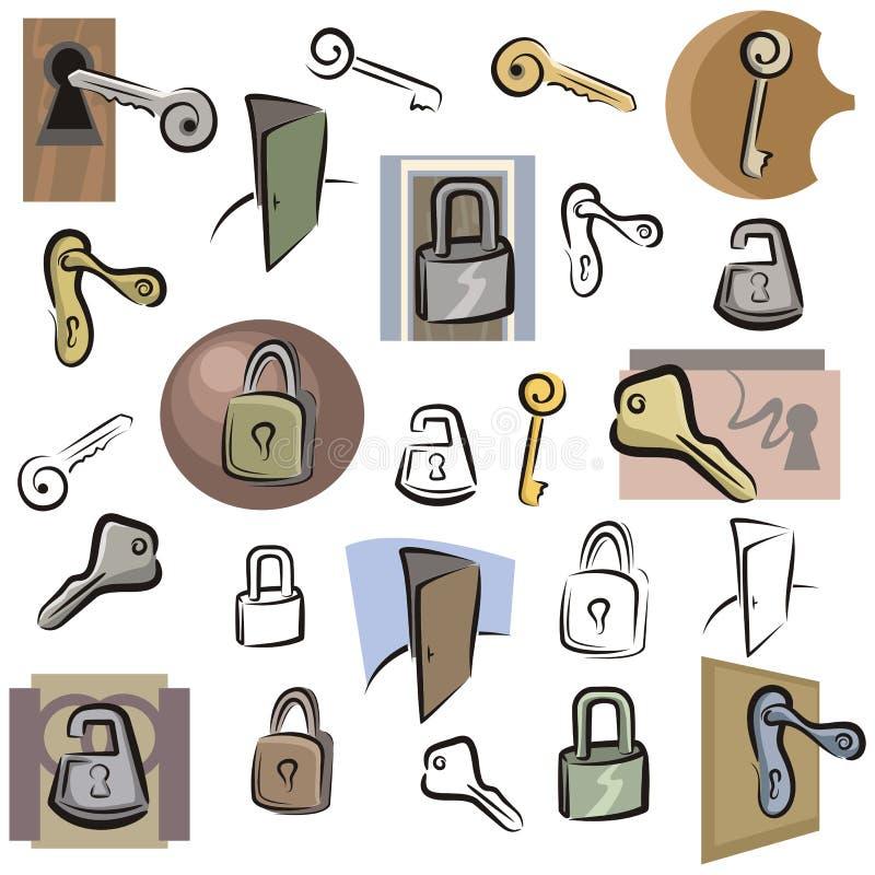 Serie fresca del objeto stock de ilustración