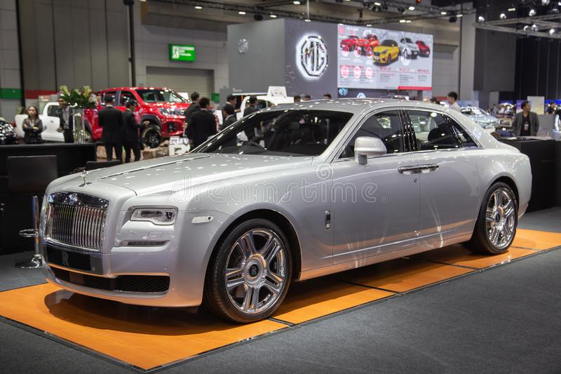 Serie II del fantasma di Rolls Royce fotografia stock libera da diritti