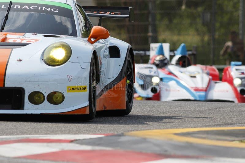 Serie Imola de Le Mans del europeo imagen de archivo libre de regalías