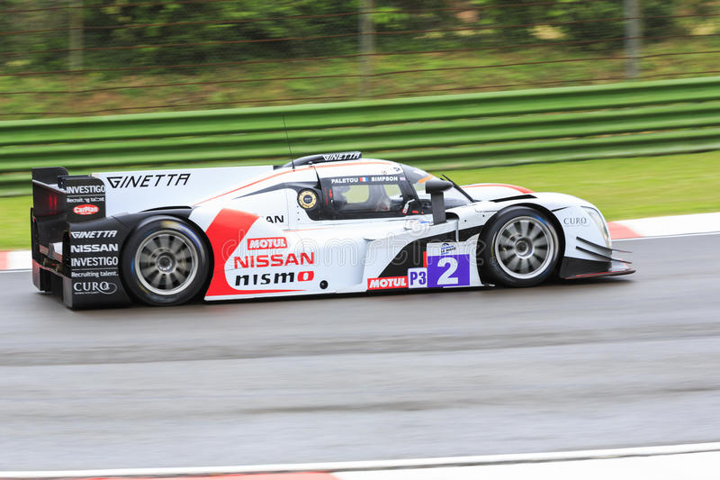 Serie Imola di Le Mans dell'europeo immagine stock
