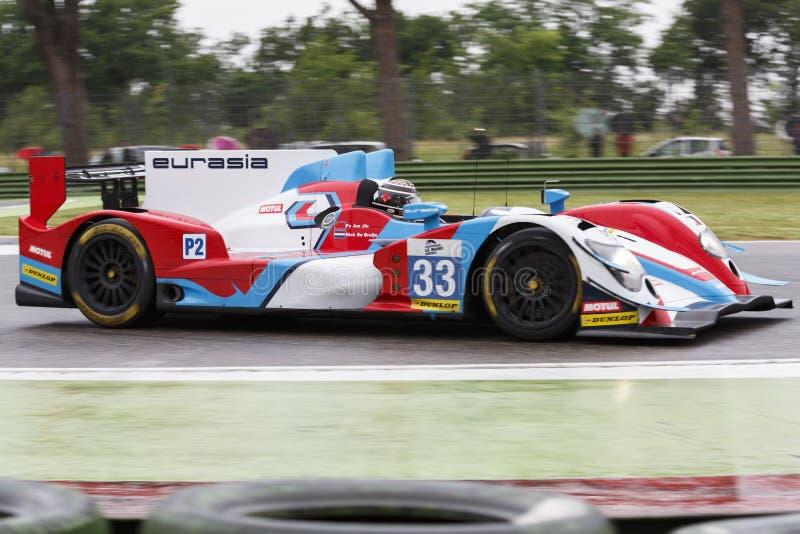 Serie Imola di Le Mans dell'europeo immagini stock