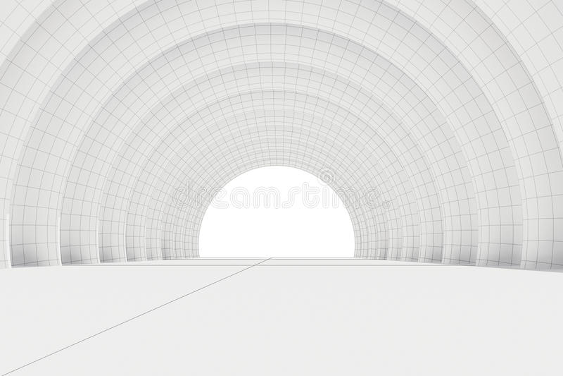 Serie mezza del cerchio royalty illustrazione gratis
