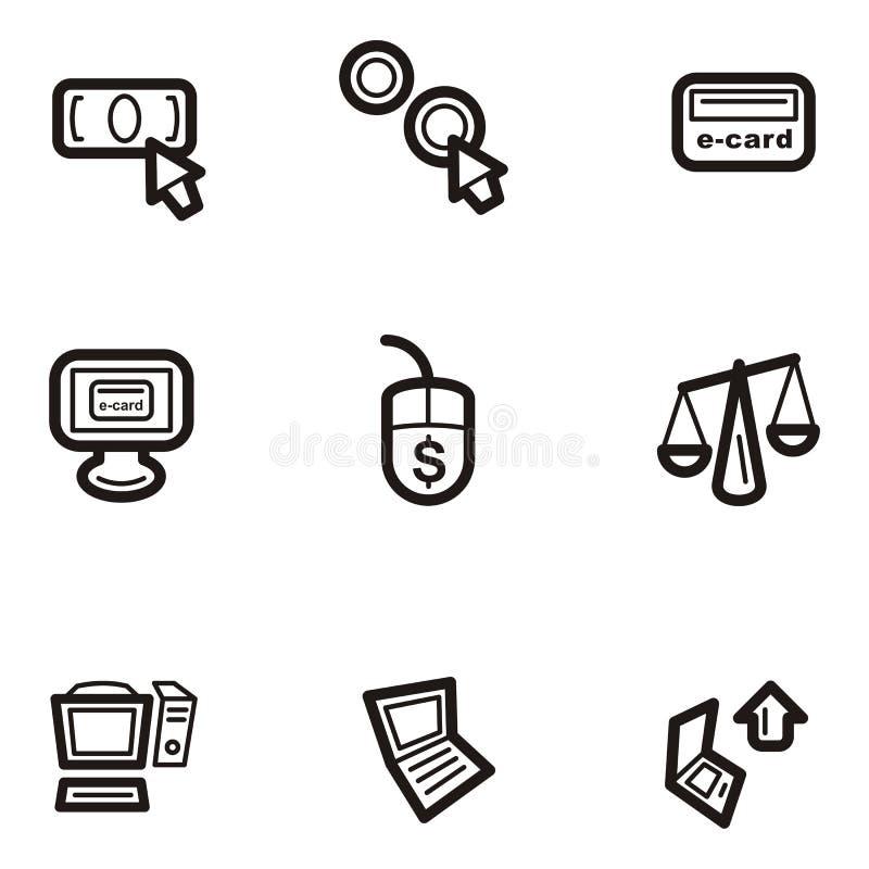 Serie normale dell'icona - Web royalty illustrazione gratis