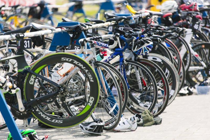 Serie occidental del Triathlon de Suburu fotos de archivo