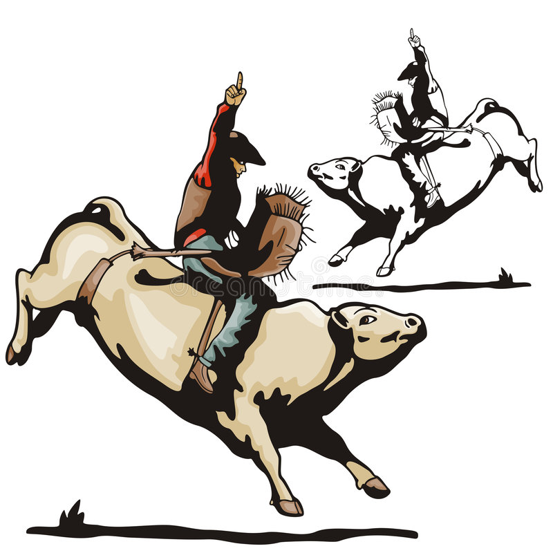 Serie occidentale dell'illustrazione royalty illustrazione gratis