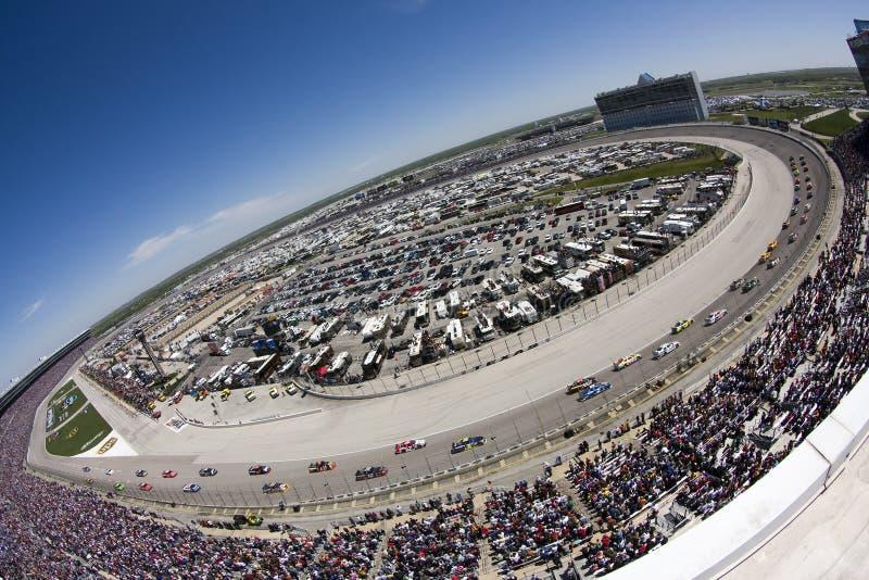 Serie Samsung della tazza di NASCAR Sprint il 5 aprile 500 fotografie stock