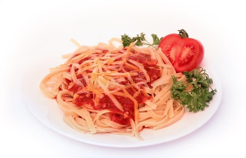 serie spagetti royaltyfri foto