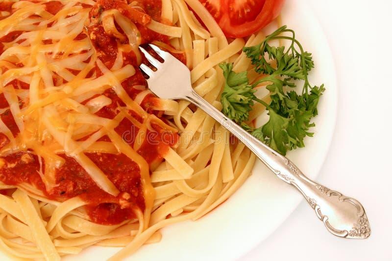 serie spagetti royaltyfri bild