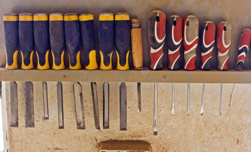 Serie van hulpmiddelen stock fotografie