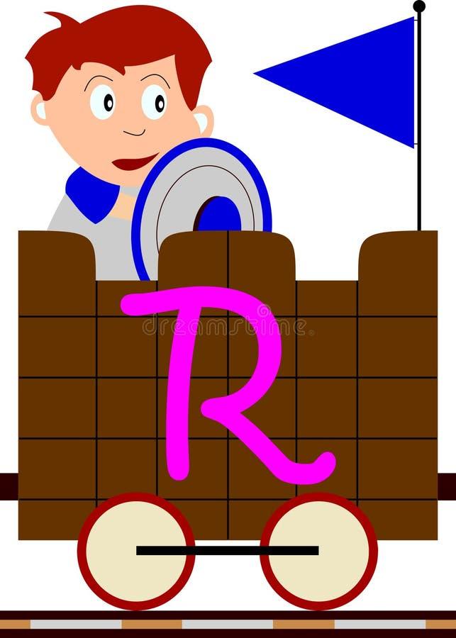 seriedrev för ungar r vektor illustrationer