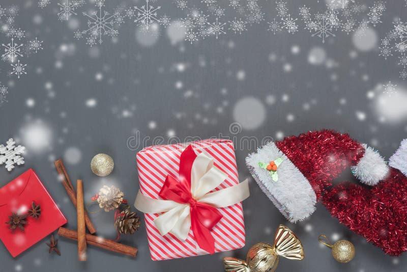 Seriell bild för bästa sikt av glad jul för idérik design & begreppet för lyckligt nytt år royaltyfri bild
