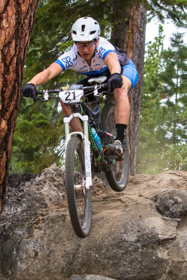 Serien 2012 laufen Oregon-Enduro #1: Schlaufe ODER lizenzfreie stockfotografie