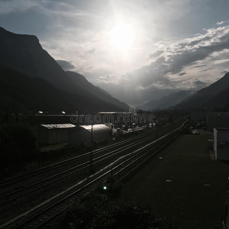 Download Serien stockfoto. Bild von sonnenuntergang, wolken, serien - 96927230