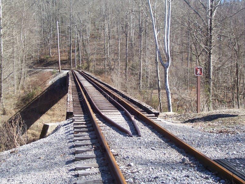 Serien-Brücke stockfoto