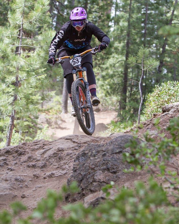 Serien-Rennen 2012 Oregon-Enduro #1: Schlaufe ODER lizenzfreies stockfoto