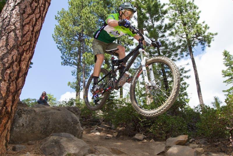 Serien-Rennen 2012 Oregon-Enduro #1: Schlaufe ODER stockfotografie